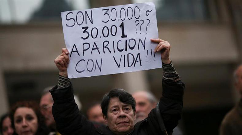 """Los argentinos exigen """"una acción urgente del Estado"""" para buscar al activista y que se identifique a los responsables para castigarlos."""