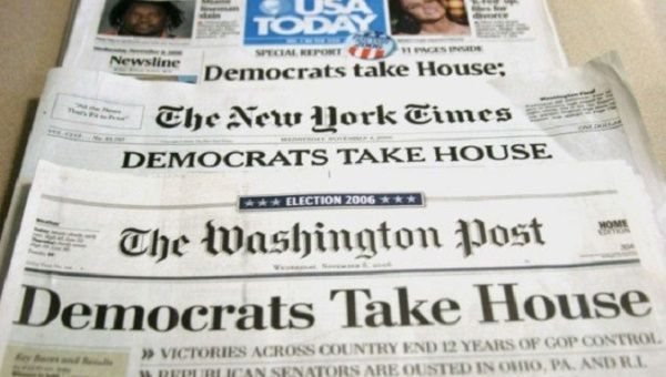 United States newspapers.