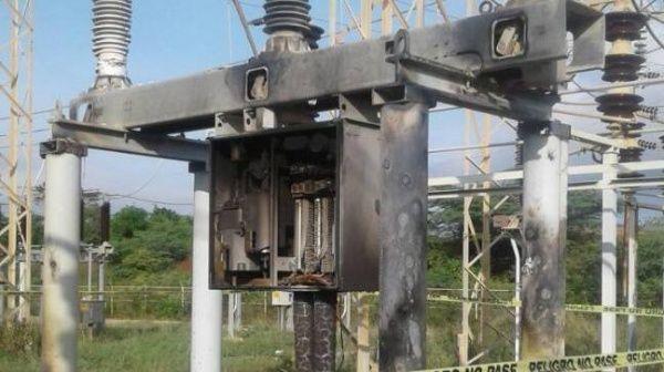 Resultado de imagen para sabotaje eléctrico venezuela