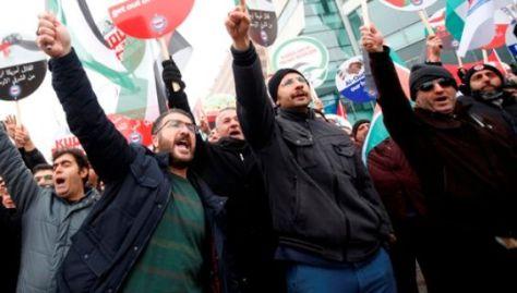 """""""Condenamos enérgicamente el uso desproporcionado de la fuerza por parte de Israel"""", se lee en un comunicado emitido por la Cancillería turca."""