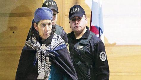 La machi aspira a que el papa Francisco la reciba durante su visita a Chile.