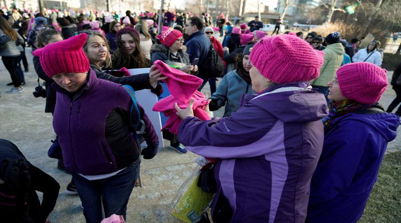 Ocurre a un año de la marcha que reunión a más de un millón de activistas de todo el mundo por el empoderamiento femenino.