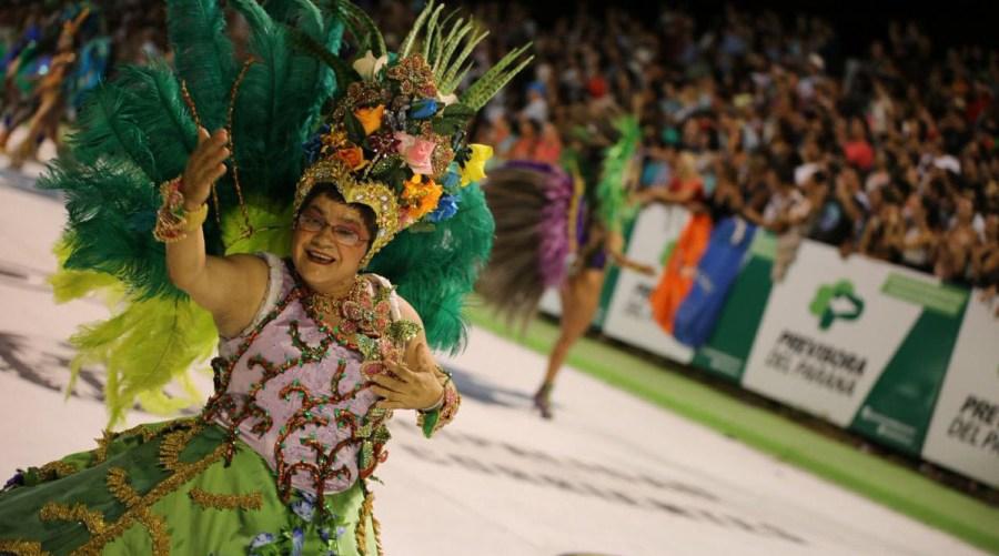 Como es bien conocido en este Carnaval también se escoge una reina que representará su alegría todo el año.