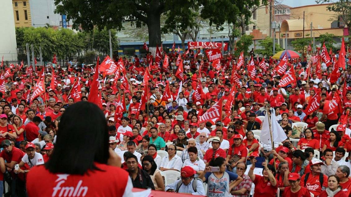 """Plataforma legislativa del FMLN: """"Construyamos con la Gente"""""""