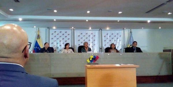 """""""Cuatro candidaturas han ido cumpliendo con todos los requisitos de ley"""", informó la presidenta del CNE."""