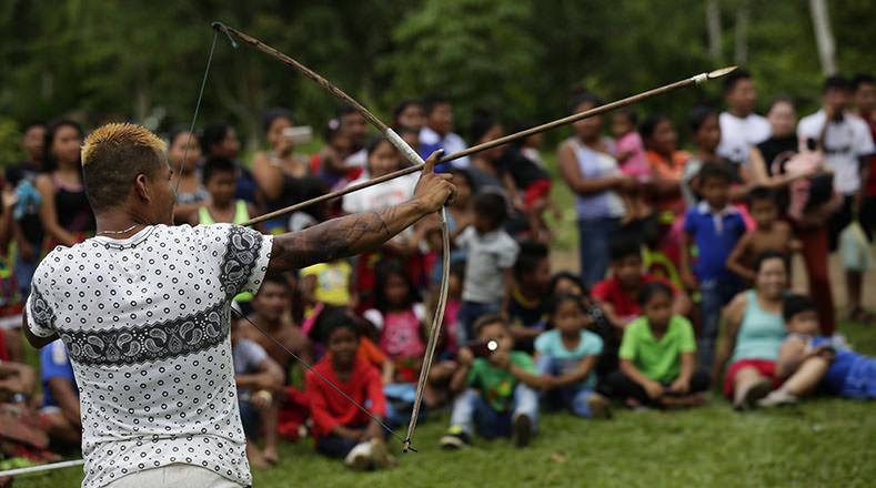 Los indígenas explicaron que con el evento promueven la convivencia en comunidad, la identidad cultural y sus tradiciones.