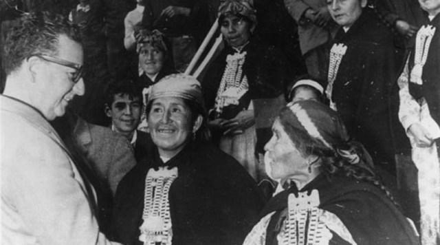 Durante su Gobierno, el pueblo Mapuche vio reivindicada su lucha histórica. El presidente devolvió a las comunidades indígenas gran parte de las tierras demandadas, en el marco de la profundización de la Reforma Agraria.