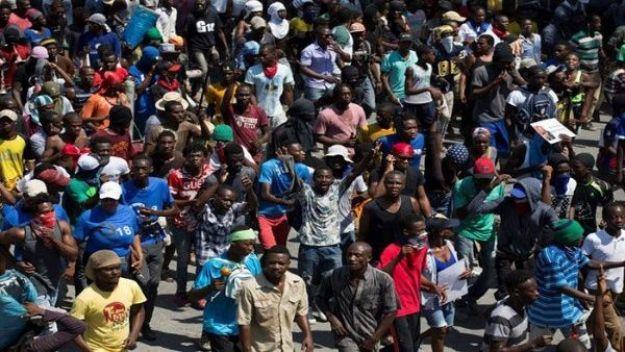 Resultado de imagen para haiti protestas