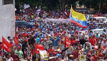 Los venezolanos han rechazado las sanciones impuestas por EE.UU. contra el puebloy el presidente Nicolás Maduro.