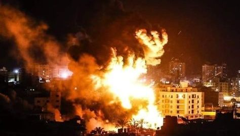 Este viernes ocurrió un bombardeo israelí en Gaza en plena crisis de coronavirus.