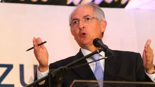 Antonio Ledezma is accused of plotting to overthrow the government of Nicolas Maduro.