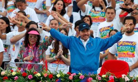 Los nicaragüenses apoyan la gestión del gobierno sandinista.