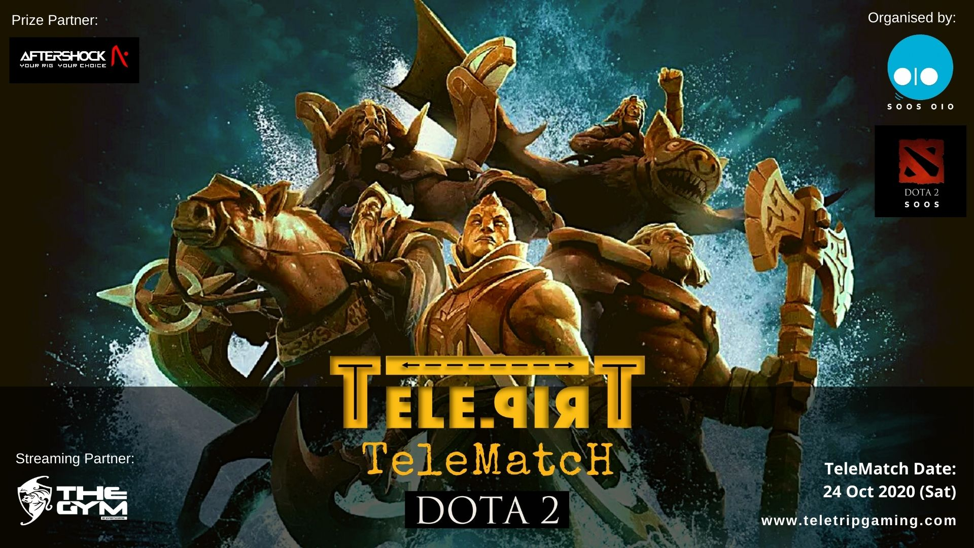 TeleMatch DOTA 24 Oct 2020