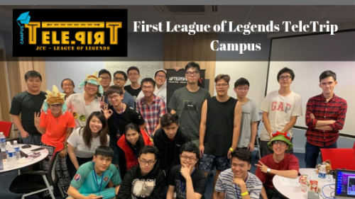 First League of Legends TeleTrip Campus