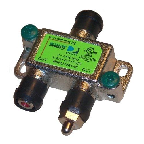 Swm Splitter Diagram Directv Swm Sl3s Lnb Kit With Power And Splitter