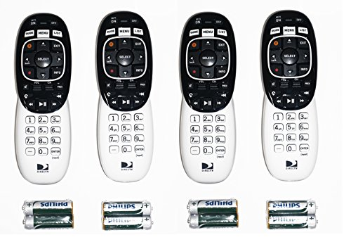 4 Pack – DIRECTV RC73 IR/RF Remote Control