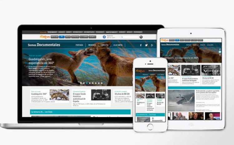 TVE Launches web documentaries on demand and multiscreen