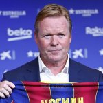 A month coaching Barcelona, Ronald Koeman is already feeling restless