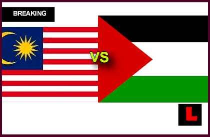 malaysia vs palestine, poster palestine vs malaysia, malaysia vs palestine world cup 2018