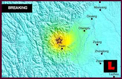 China Earthquake Today 2013 - 6.6 Sichuan Aftershocks Continue