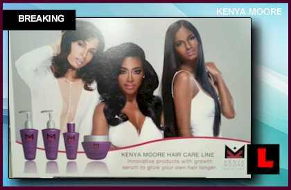 Kenya Moore Hair Care Line 2014 Reveals Growth Serum Secret