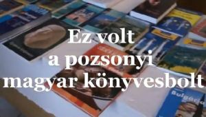 Ez volt a pozsonyi magyar könyvesbolt