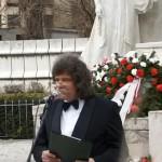 Petőfi Sándor szobránál ünnepelt a pozsonyi magyarság
