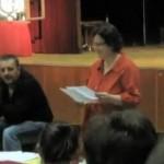 Nyilvános szakmai értékelés a Tompa szavalóversenyen