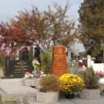 Séta az alsószeli temetőben halottak napja előtt