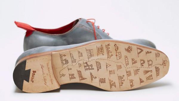Dominic Wilcox GPS cipő