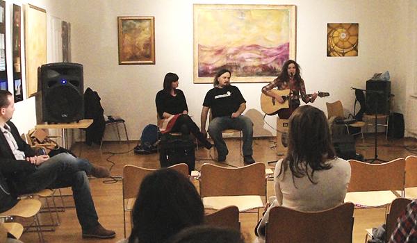 Sipos Janka, Melissa Wolf, Lacza Gergely a 38. Expired Passport Music Clubban