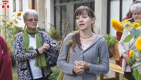 Saróka Liliána a farnadi tájházban