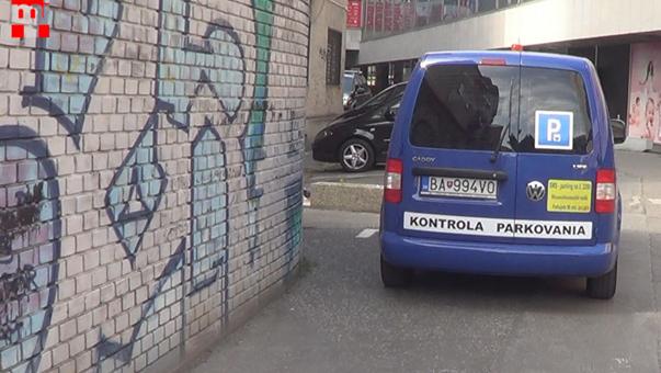 Parking in Bratislava / Parkolás Pozsonyban
