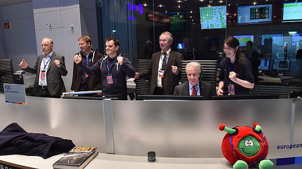 Sikeresen landolt az üstökösön a Rosetta leszállóegysége