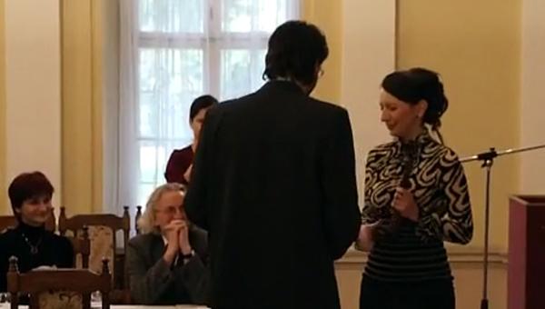 A 2012-es Civil Társadalom Fejlesztéséért Díj átadása