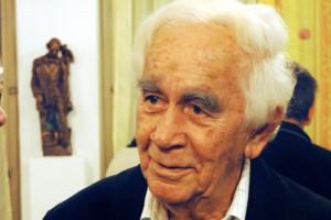 slovenský akademický sochár Tibor Bártfay portrét