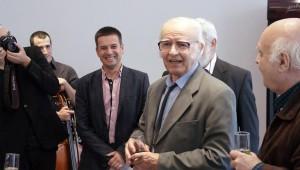 Tőzsér Árpád köszöntése a PMI-ben, 2015 © MIT