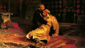 Rettegett Iván megöli a fiát
