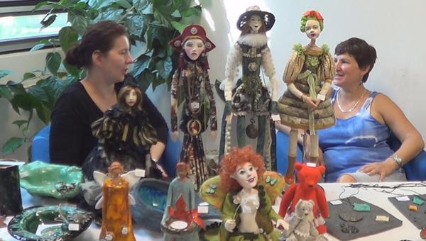 Iparművészek és kézművesek vására Pozsonypüspökin