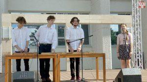 Az Óbudai Népzeneiskola zenekara