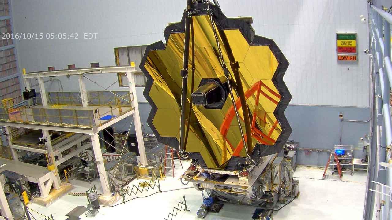 James Webb űrteleszkóp