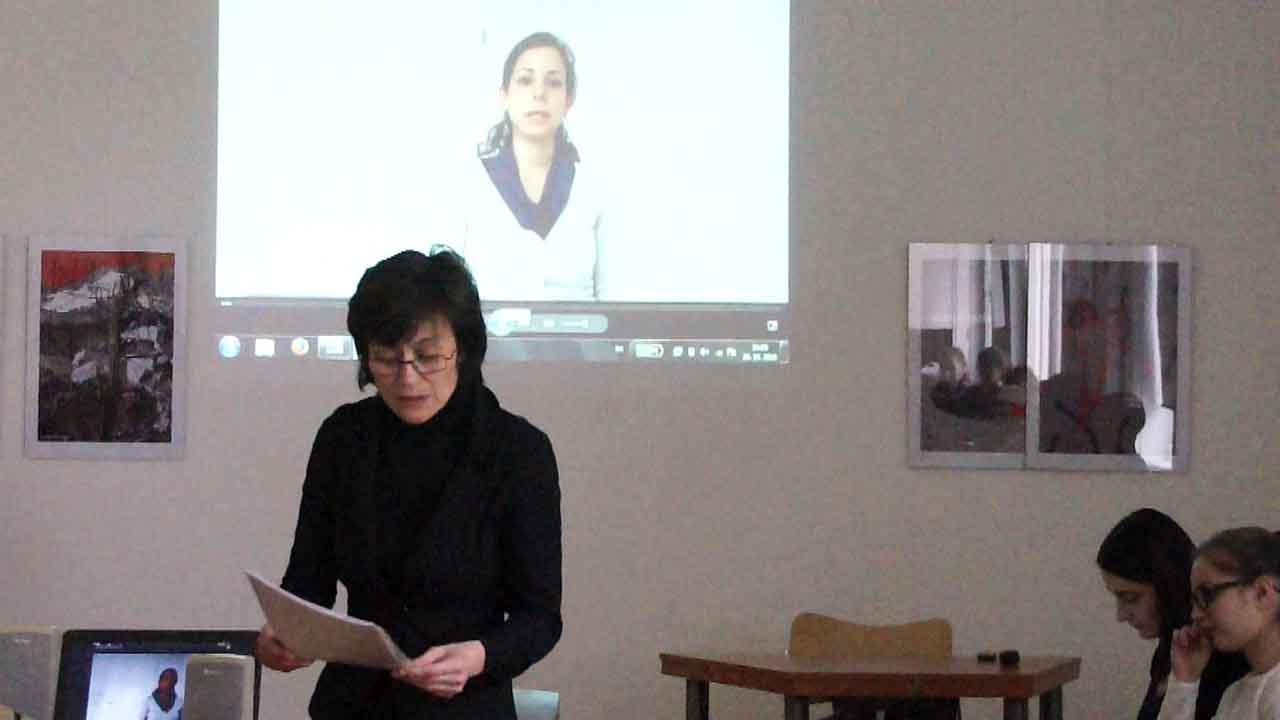 Tina Gažovičová előadása