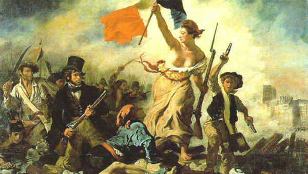 Eugène Delacroix: A Szabadság vezeti a népet