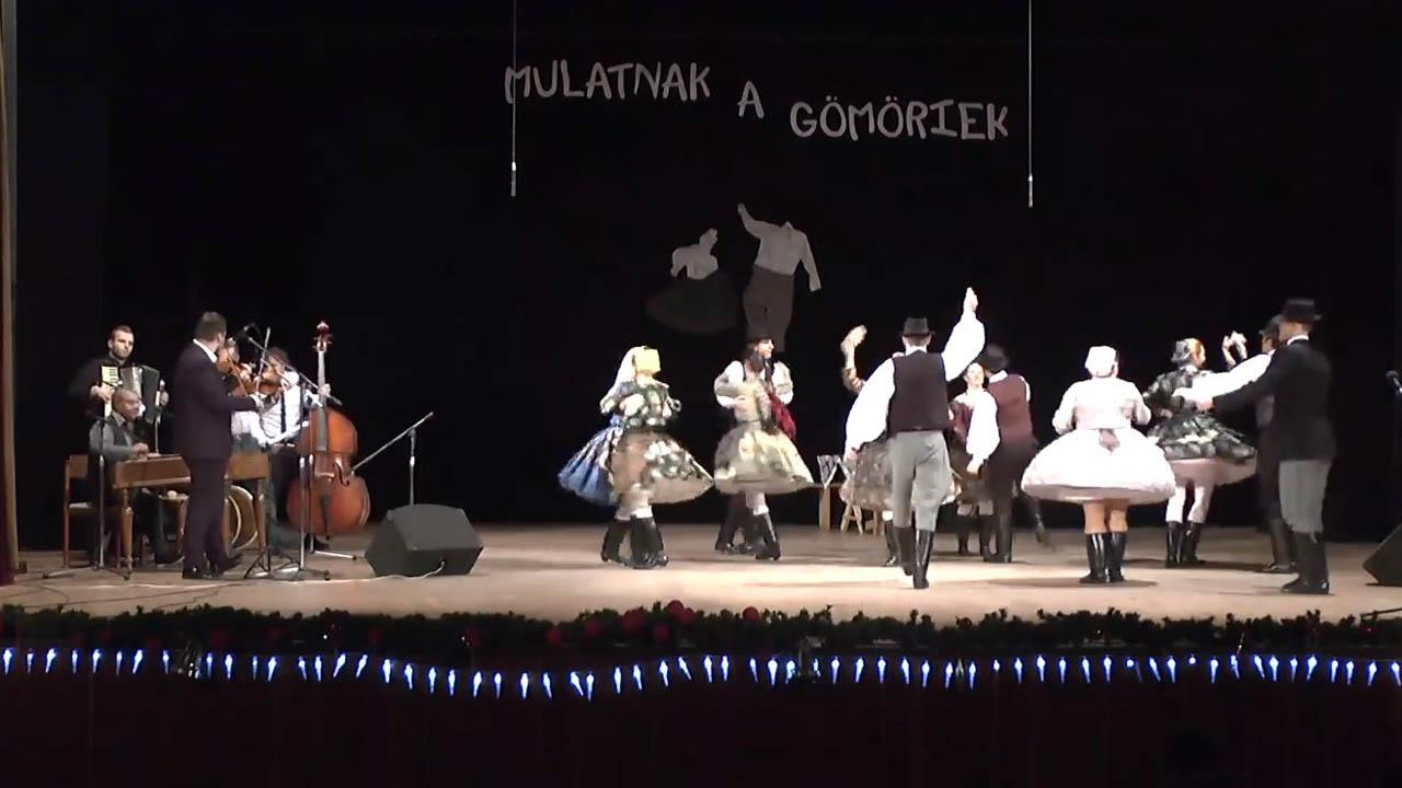 Borostyán - magyar népi táncok