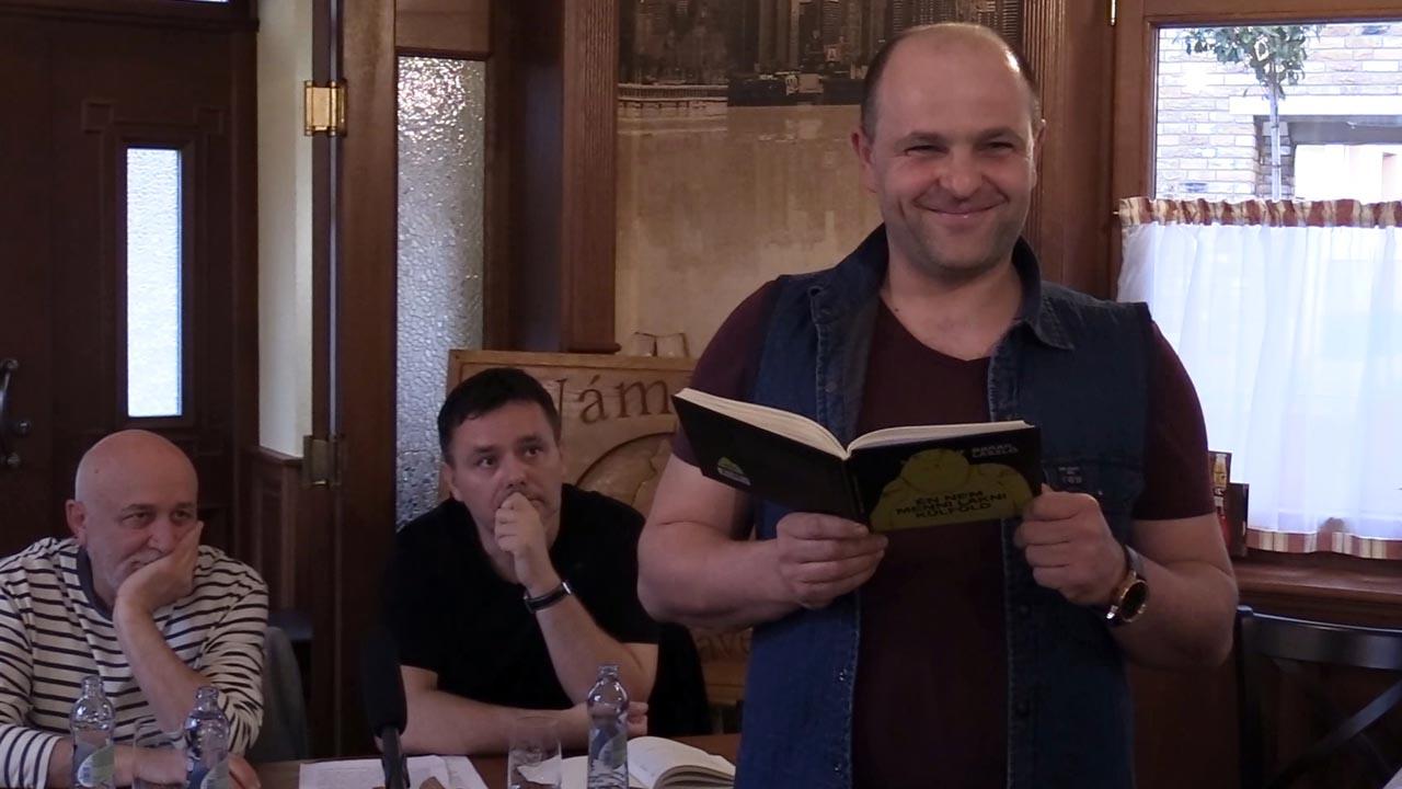 Barak László verseiből Gál Tamás olvasott fel