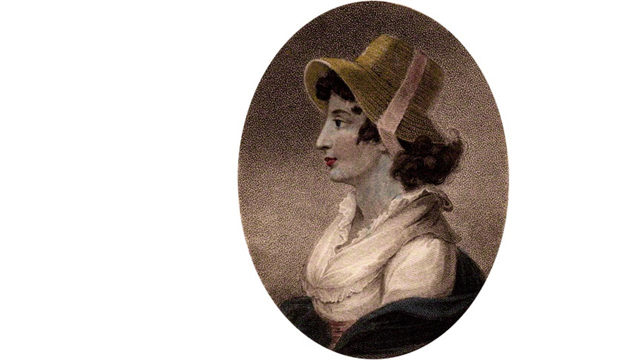 Anna Laetitia Barbauld portréja (John Chapman alkotása)