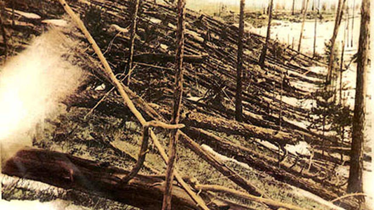 Tunguszka -Fotó az 1927-es expedícióról