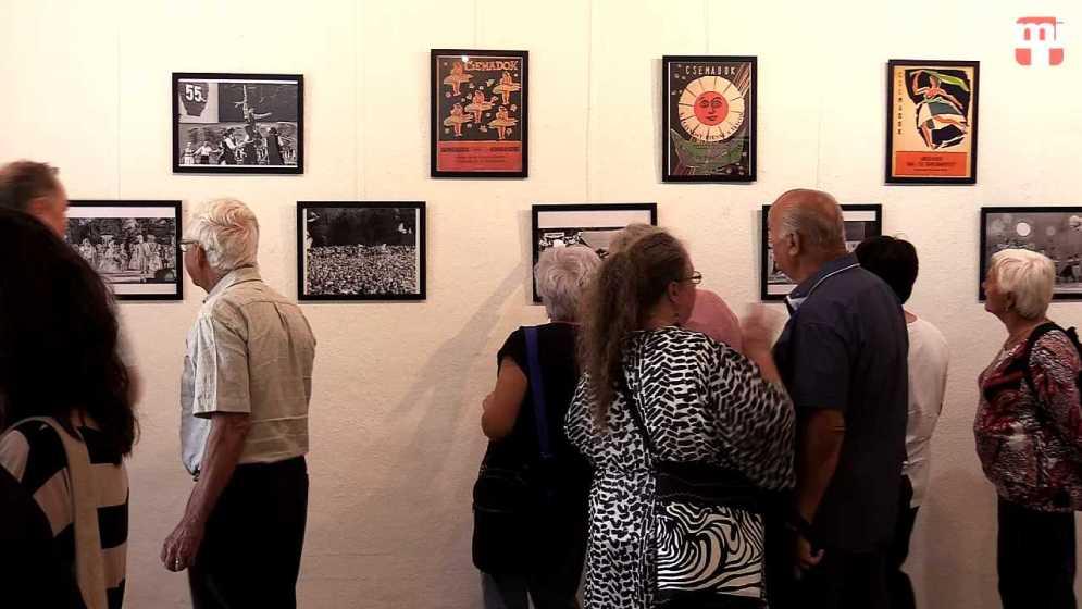 Gombaszög 60 - Gombaszögi pillanatok - Kiállítás a Bányászati Múzeum Galériájában
