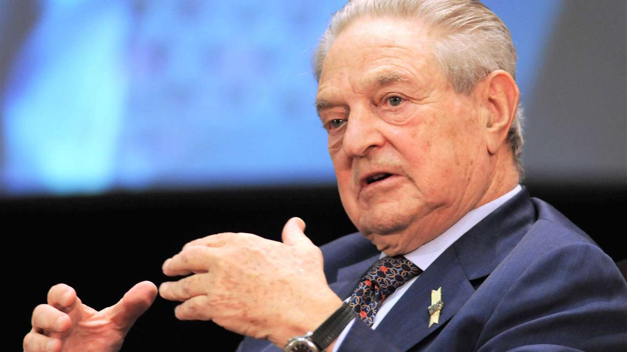 George Soros - Fotó: Rocky Lee - EyePress/AFP