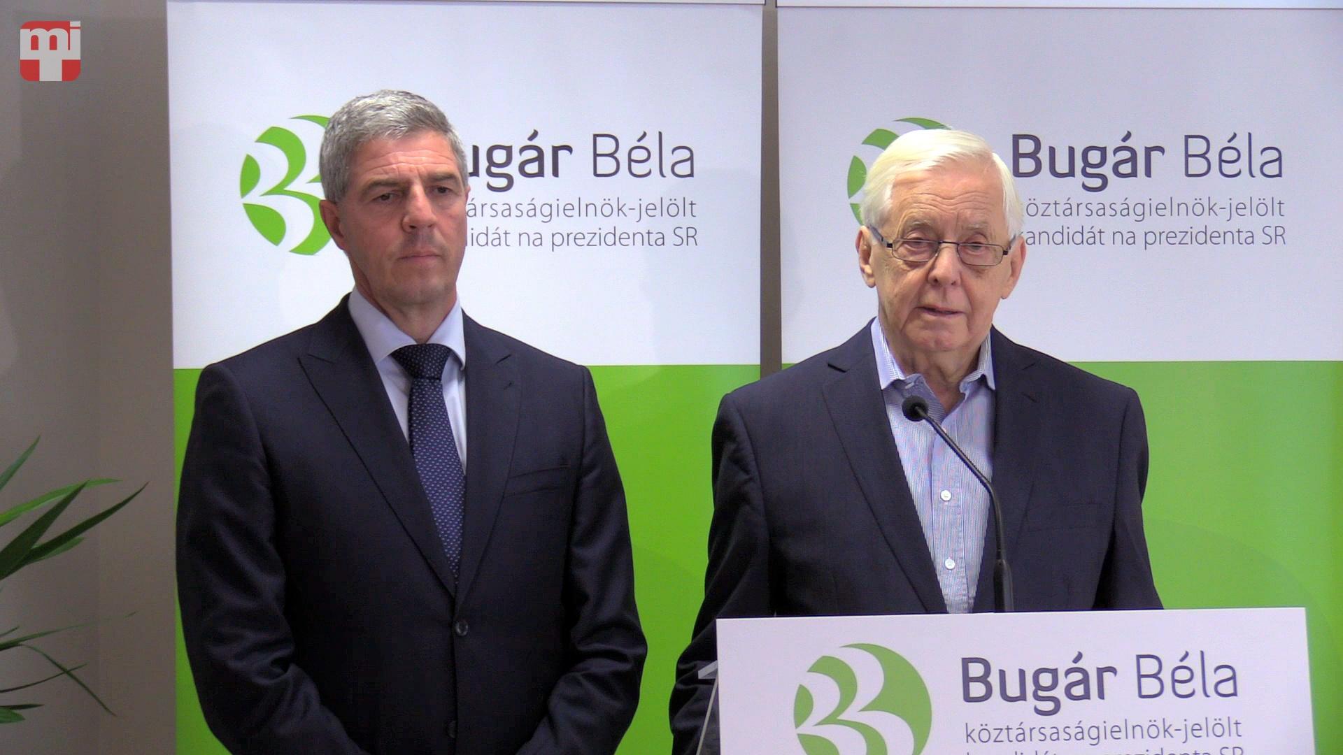 Bugár Béla és Rudolf Chmel